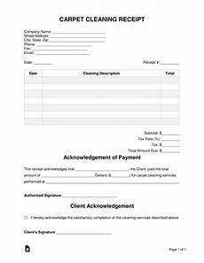 carpet cleaning receipt template free carpet cleaning receipt template pdf word