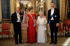 Princess Hosts King And Of Spain In