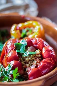 Gefüllte Paprika Vegan - vegan gef 252 llte paprika