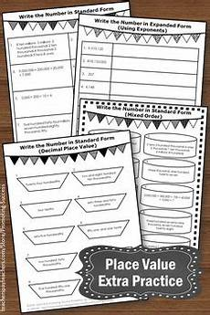 place value worksheets 5th grade with answers 5369 place value worksheets standard and expanded form 5th grade math review