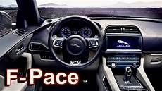 2019 jaguar f pace svr interior