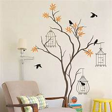 Wall Stickers Trees And Birds