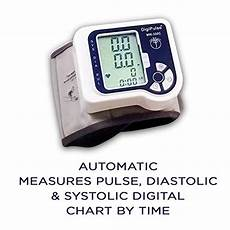 do automatic blood pressure machines read high blood pressure wrist cuff monitor automatic digital sphygmomanometer digipulse by just brill bp