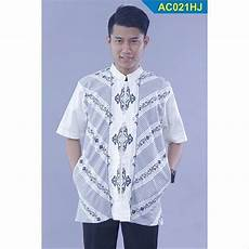 jual nuranitex muslim baju koko bordir modern 2017 ac021hj putih elegan baju muslim
