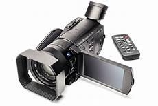 bezahlbarer 4k camcorder sony fdr ax 100 c t magazin