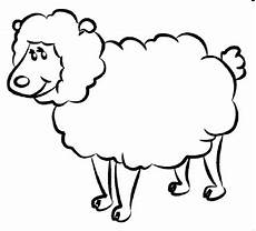 free printable sheep coloring pages for preschool