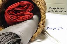 drap housse satin de coton drap housse satin de coton 160x200 grands bonnets 30 cm