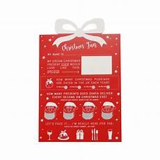 christmas scratch card game by notonthehighstreet com