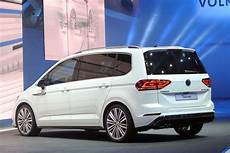 new vw touran looking in r line carscoops