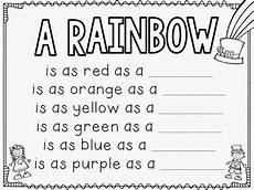 s day writing worksheets 20627 st s day rainbow craftivity with free writing prompt workshee supplyme