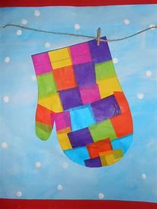 winterbilder zum basteln es bleibt winter basteln winter grundschule kunst