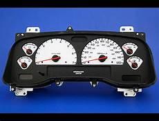 car maintenance manuals 2003 dodge dakota instrument cluster 2001 2003 dodge dakota dash cluster white face gauges 01 03 ebay