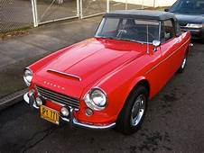 OLD PARKED CARS 1966 Datsun Fairlady 1600 Roadster