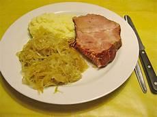 Gekochte Rippchen Mit Sauerkraut Rezept Mit Bild