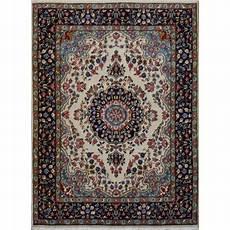 tappeti persiani rotondi tappeto classico floreale kerman persiano cm194x146 fatto