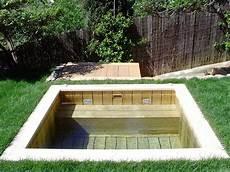 mini piscine enterrée natura piscines mini piscines bois et piscine spa