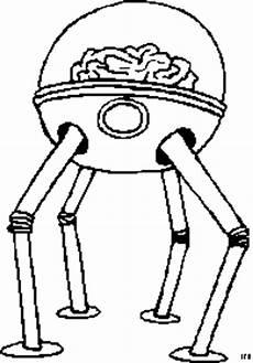 Malvorlagen Roboter Java Roboter Mit Gehirn Ausmalbild Malvorlage Science Fiction