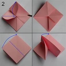 basteln anleitung papier aus papier falten blumen basteln anleitung