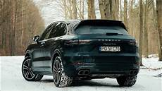 porsche cayenne turbo 2018 2018 porsche cayenne turbo snow road startup