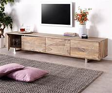 design lowboard design lowboard wyatt 220 cm sheesham natur 4 t 252 ren
