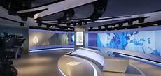 the wirtschaftblatt newsroom office interior design newsroom and tv broadcasting studio for al jazeera media