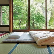 lit japonais traditionnel lit futon pour une chambre 224 coucher de style japonais