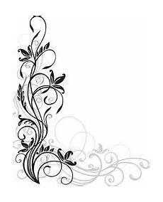 vektor blumen ornament floral muster ranke muster