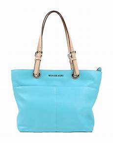 lyst michael michael kors handbag in blue