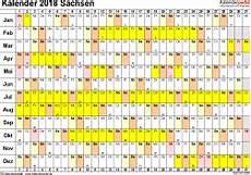kalender 2018 sachsen kalender 2018 sachsen ferien feiertage excel vorlagen