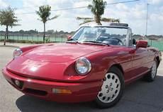 all car manuals free 1993 alfa romeo spider regenerative braking 1993 alfa romeo spider veloce convertible 2 0l 4cyl aut trans no reserve for sale alfa