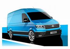 vw crafter 2017 maße all new volkswagen crafter teased in official sketches