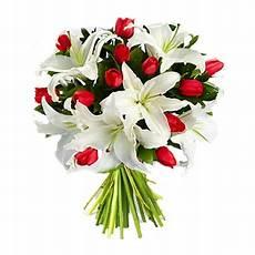 costo mazzo di fiori bouquet of tulips and lilies white