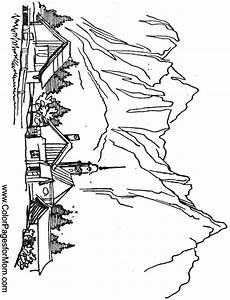 landscape coloring pages free on clipartmag