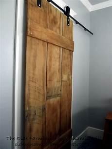 diy barn door the olde farmhouse on windmill hill diy barn door details