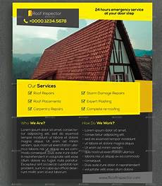 11 roofing flyer templates psd ai eps vector format download