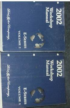 service manuals schematics 2002 ford e series engine control 2002 ford econoline e series van service shop repair manual set w wiring diagram ebay