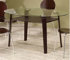 Coaster Orval Oval Glass Top Dining Table 120791
