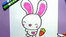 ein niedliches kaninchen malen