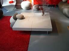 table basse en béton ciré table beton table basse en b 233 ton cir 233 bfuhp