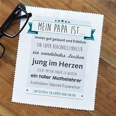 brillenputztuch zum vatertag mit pers 246 nlichem text