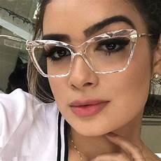 trendy eyeglasses 2019 fashion square glasses frames for trendy brand cat eye glasses frame optical