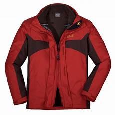 wolfskin serpentine jacket rot texapore 3 in 1
