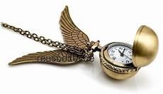 Uhr Malvorlagen Harry Potter Harry Potter Golden Snitch Quidditch Kette Mit Uhr