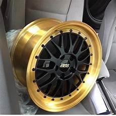 Black N Gold Bbs Alloy Wheel Bbs Wheels Car Wheels