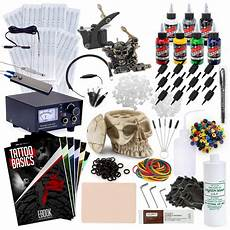 top quality rehab complete tattoo kit set with machine
