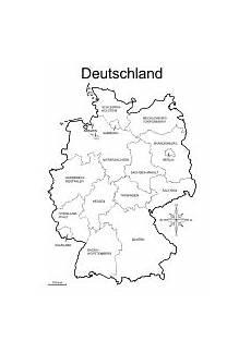 Kinder Malvorlagen Deutschlandkarte Deutschland Karte Zum Ausmalen My