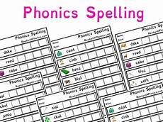 spelling worksheets 22578 phonics spelling worksheets with pictures key stage 1 letters and sounds phonics by