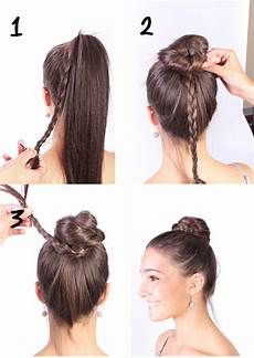 ballet class hair bobby pins and lip gloss