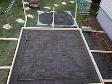 dalle beton pour garage dalles de b 233 ton pour cabanon spa et autres projets