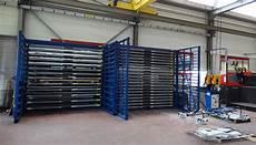 metal sheet rack horizontal eurostorage storage sheets